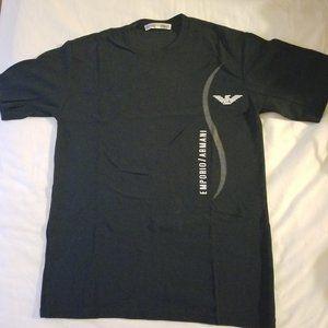 Dark Navy Blue Emporio Armani short sleeve top